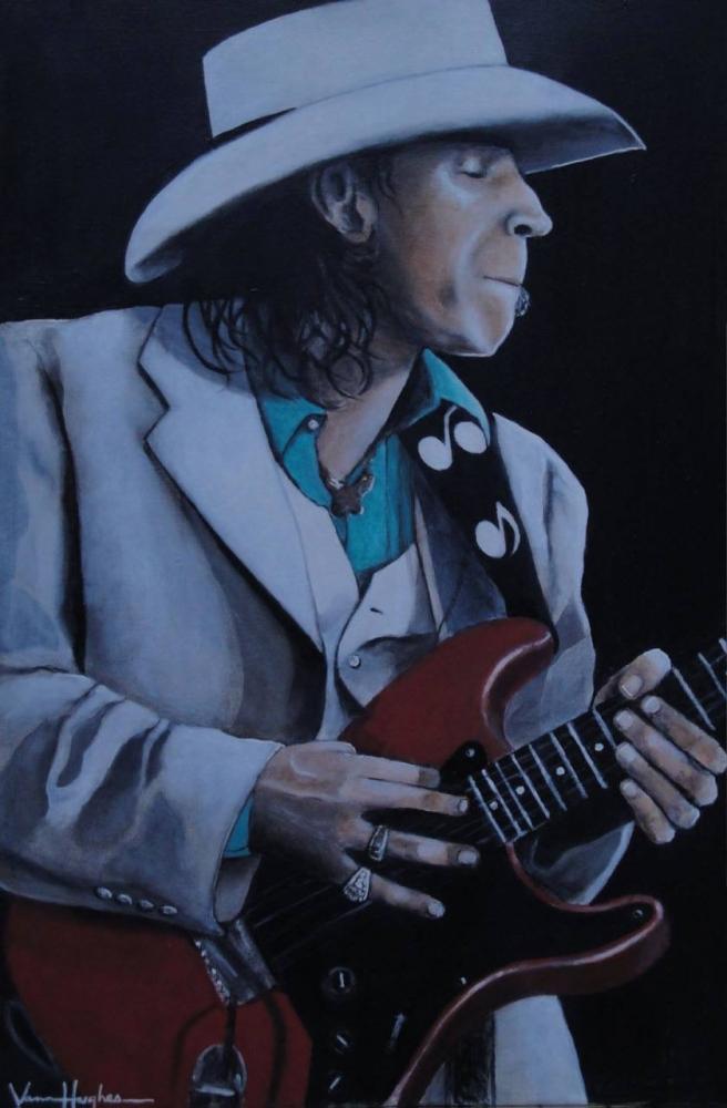 Stevie Ray Vaughan by Vannagain